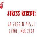 SuperYou Altijd ja zeggen, geeft stress
