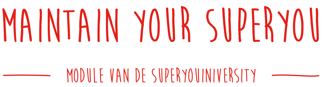 maintain your superyou
